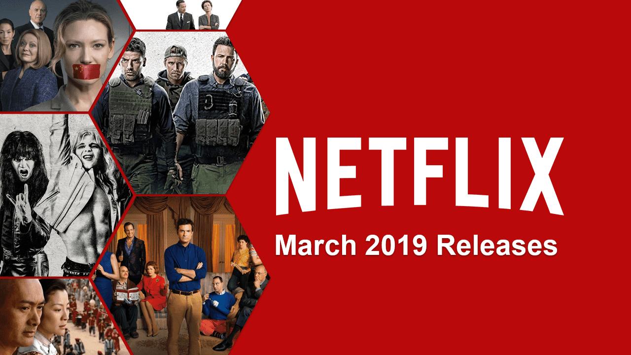 Netflix premieres in March 2019