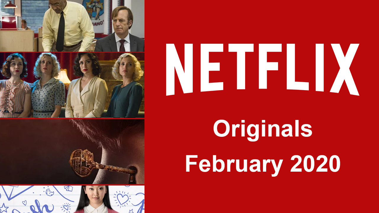 Netflix premieres in February 2020