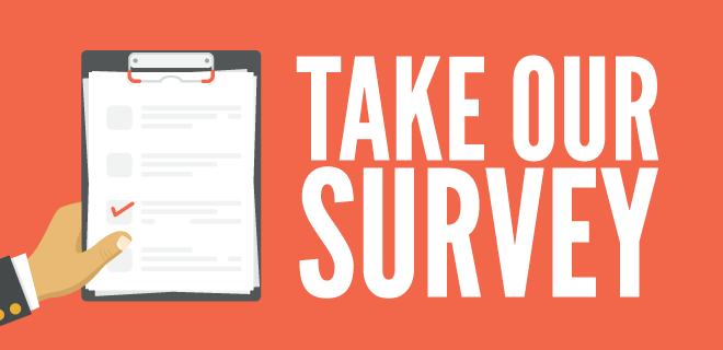Attention! We have a survey!