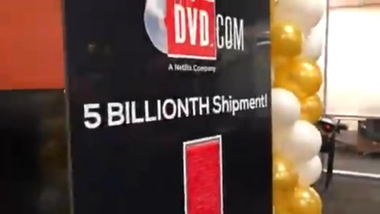Netflix Ships Its 5 Billionth DVD