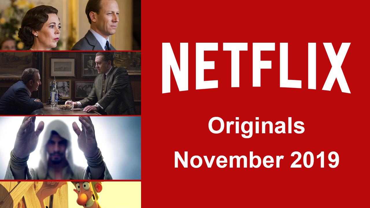 Netflix premieres in November 2019